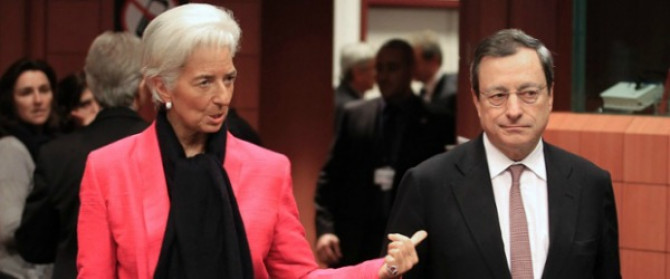 Dietro al conflitto continuo tra la Bce di Draghi e il Fmi di Lagarde c'è una verità tragica: troika e banche hanno rimpiazzato la democrazia