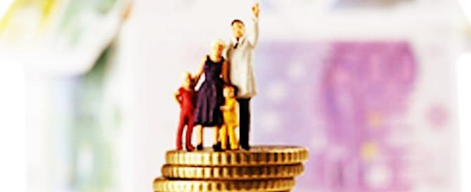 Fisco nemico della famiglia: 640 euro in più in cinque anni