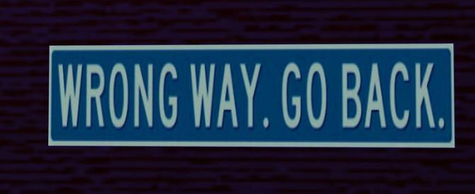 La strada sbagliata
