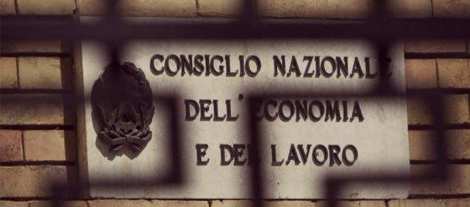 CNEL: la Legge di Stabilità blocca il suo funzionamento ma non gli sprechi