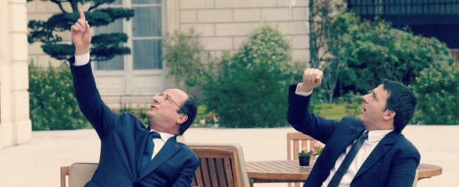 Renzi non si accodi a Hollande