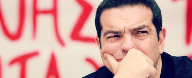 La doppia morale di Tsipras