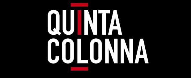 """Massimo Blasoni a """"Quinta Colonna"""" – Rete 4"""