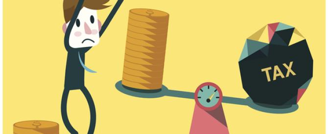 Le infografiche sulla pressione fiscale in Italia