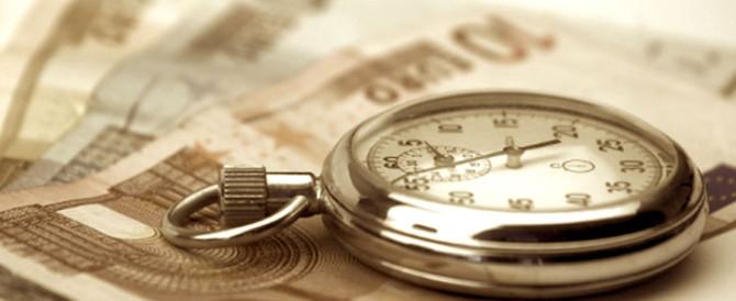 Debiti PA: lo stock ammonta ancora a 61,1 miliardi