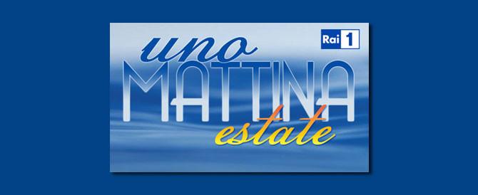 Massimo Blasoni a Uno Mattina Estate (Rai 1)